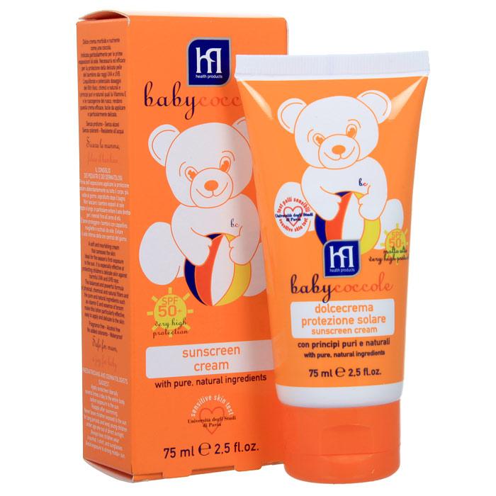 Крем солнцезащитный Babycoccole. The Summer, SPF 50, 75 мл4255Солнцезащитный крем Babycoccole. The Summer нежно заботится о нежной коже. Разработано специально для защиты от воздействия вредных UVA и UVB лучей.Сбалансированная сильная формула из физических, химических и натуральных фильтров, чистые натуральные ингредиенты, такие как витамин Е, делают это молочко легким в применении и нежным для кожи. Характеристики:Объем: 75 мл.Товар сертифицирован.