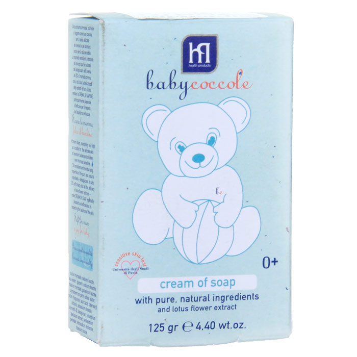 Крем-мыло Babycoccole. The Bath, 125 г4131Крем-мыло Babycoccole. The Bath с чистыми натуральными ингредиентами и экстрактом цветов лотоса.Сливочная пена окружает нежной заботой деликатную кожу новорожденных и маленьких детей, подходит даже для очень чувствительной кожи. Обладает смягчающими и увлажняющими свойствами благодаря чистым и натуральным ингредиентам, таким как бетаглюкан овса, экстракт цветов лотоса. На 25% состоит из мягкого крема.Гипоаллергенно, обладает физиологическим уровнем pH. Характеристики:Вес: 125 г.Товар сертифицирован.