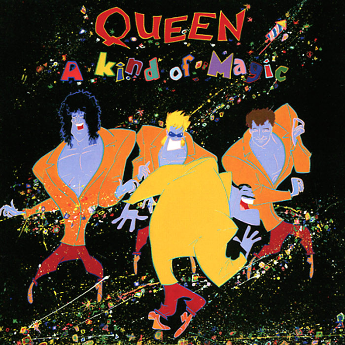 Queen Queen. A Kind Of Magic. Deluxe Edition (2 CD) queen queen on air 2 cd