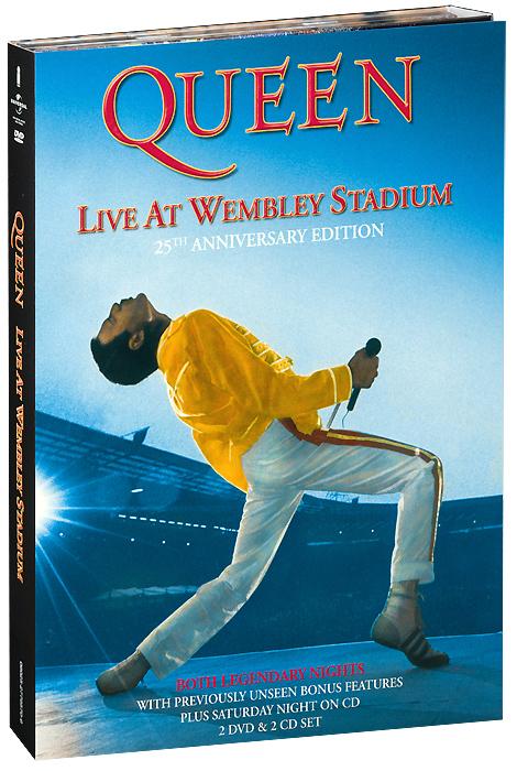 Queen: Live At Wembley Stadium (2 DVD + 2 CD) dark age live so far 2 dvd