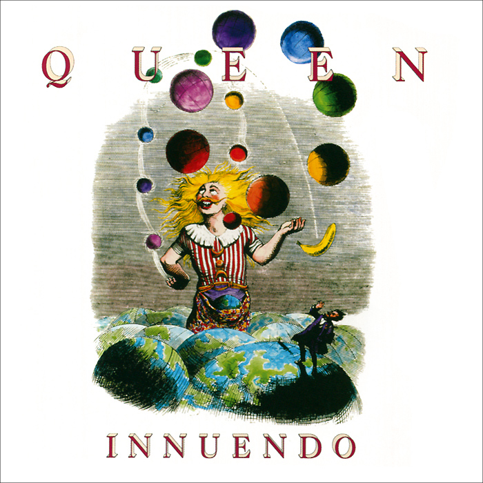 Queen Queen. Innuendo. Deluxe Edition (2 CD) queen queen on air 2 cd