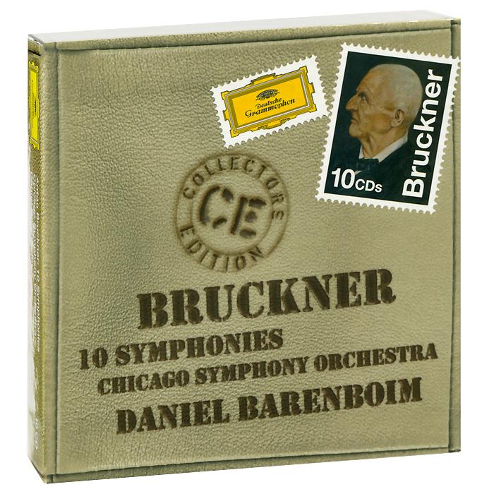 Джесси Норман,Ивонна Минтон,Дэвид Рендэл,Сэмюэль Рэйми,Chicago Symphony Chorus,Chicago Symphony Orchestra,Дэниэл Баренбойм,Маргарет Хиллис Daniel Barenboim. Chicago Symphony Orchestra. Bruckner: 10 Symphonies (10 CD) chicago top 10