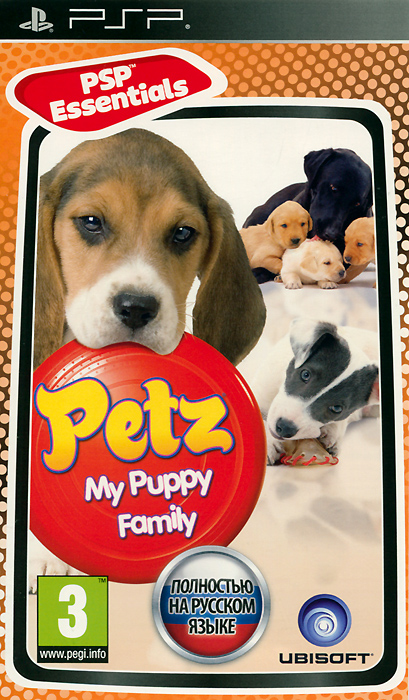 Petz: My Puppy Family. Essentials (PSP)