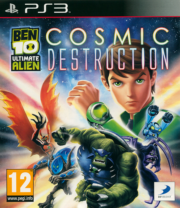 Ben 10 Ultimate Alien: Cosmic Destruction (PS3) ben 10 alien force psp