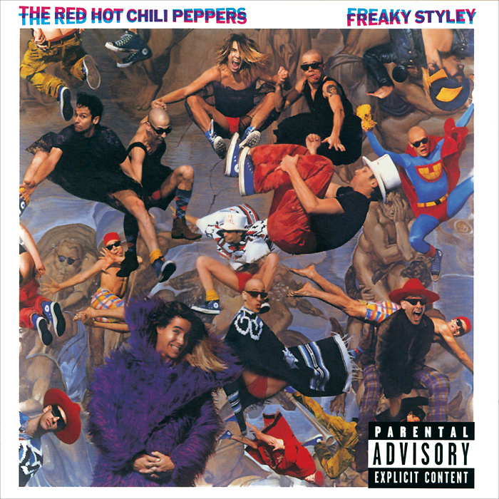 The Red Hot Chili Peppers The Red Hot Chili Peppers. Freaky Styley the red hot chili peppers red hot chili peppers by the way 2 lp