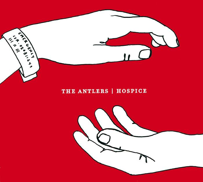 The Antlers The Antlers. Hospice pair of faux pearl rhinestone antlers earrings