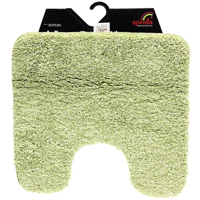 Коврик Gobi, цвет: зеленый чай, 55 х 55 см1012427Коврик для ванной комнаты Gobi цвета зеленого чая выполнен из полиэстера высокого качества. Прорезиненная основа коврика позволяет использовать его во влажных помещениях, предотвращает скольжение коврика по гладкой поверхности, а также обеспечивает надежную фиксацию ворса. Коврик добавит тепла и уюта в ваш дом.Характеристики:Материал: 100% полиэстер. Размер:55 см х 55 см. Производитель: Швейцария. Изготовитель: Китай. Артикул: 1012427.