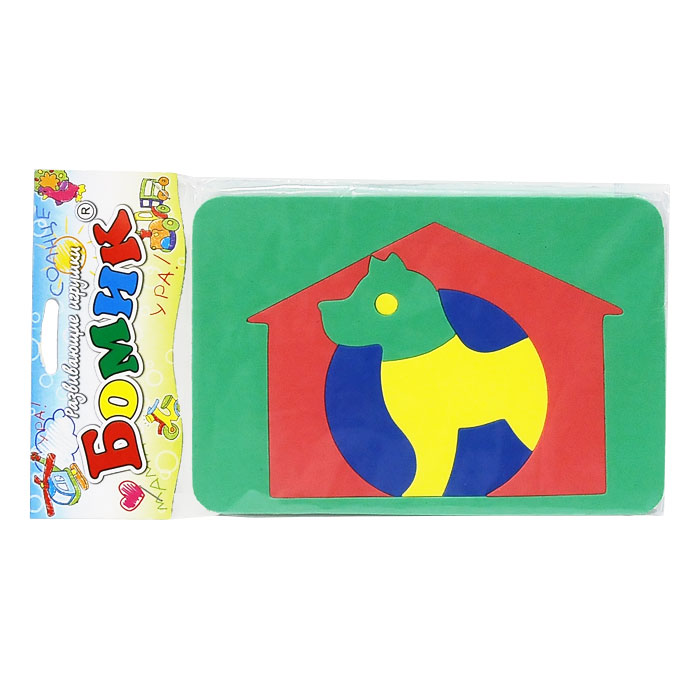 Бомик Пазл для малышей Собака мозаика amav diamant мозаика собака