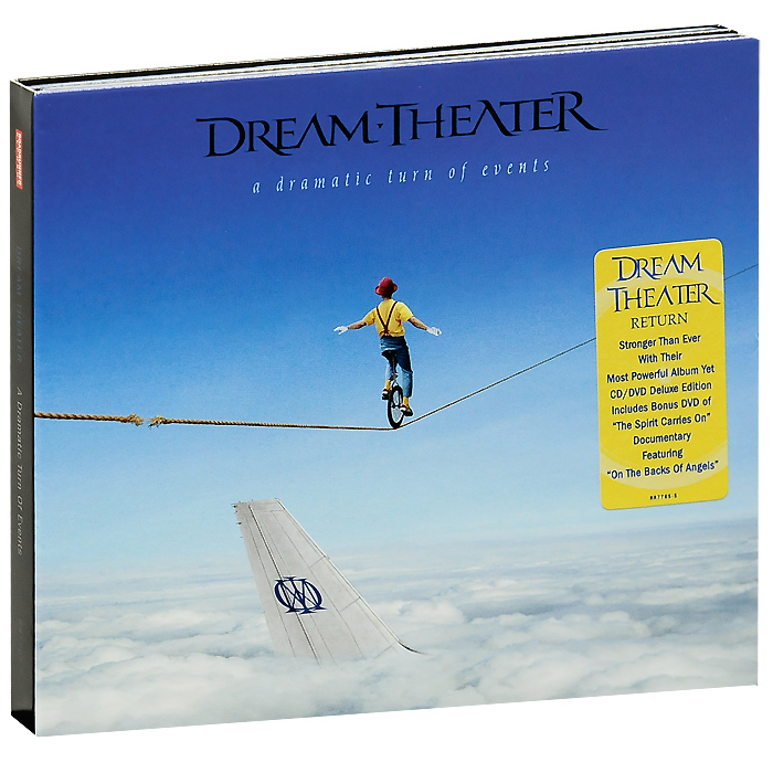 Dream Theater Dream Theater. A Dramatic Turn Of Events. Deluxe Edition (CD + DVD) dream theater chaos in motion 2007 2008 2 dvd