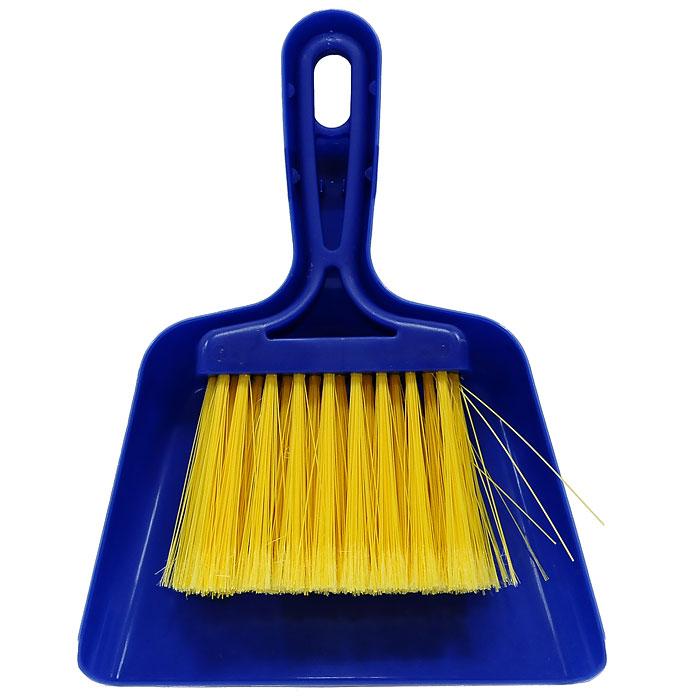 Совок Mini с щеткой, цвет: синий11701-AНабор Fratelli Mini включает щетку с синтетическим ворсом и совок, изготовленный из высококачественного пластика. Набор идеально подходит для уборки мелкого мусора с кухонных поверхностей. Для дополнительного удобства совок и щетка снабжены специальной петелькой, с помощью которой, вложив щетку в совок, их можно разместить в любом месте.Размер совка с ручкой: 24 см х 18 см х 3,5 см.Размер щетки: 20 см х 11,5 см х 2,5 см.