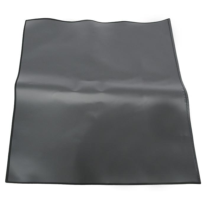 Настольная подкладка-коврик для письма Durable, цвет: черный7203-01Настольное покрытие Artwork прямоугольной формы с поднимающейся прозрачной верхней пленкой не только защищает рабочую поверхность стола, но и предоставляет дополнительную возможность хранить нужную информацию - заметки, номера телефонов. Выполнено из высококачественного пластика и имеет тонкую поролоновую подложку, которая не позволяет подкладке-коврику скользить по поверхности стола.Характеристики: Материал: пластик, поролон. Размер: 50 см х 70 см.