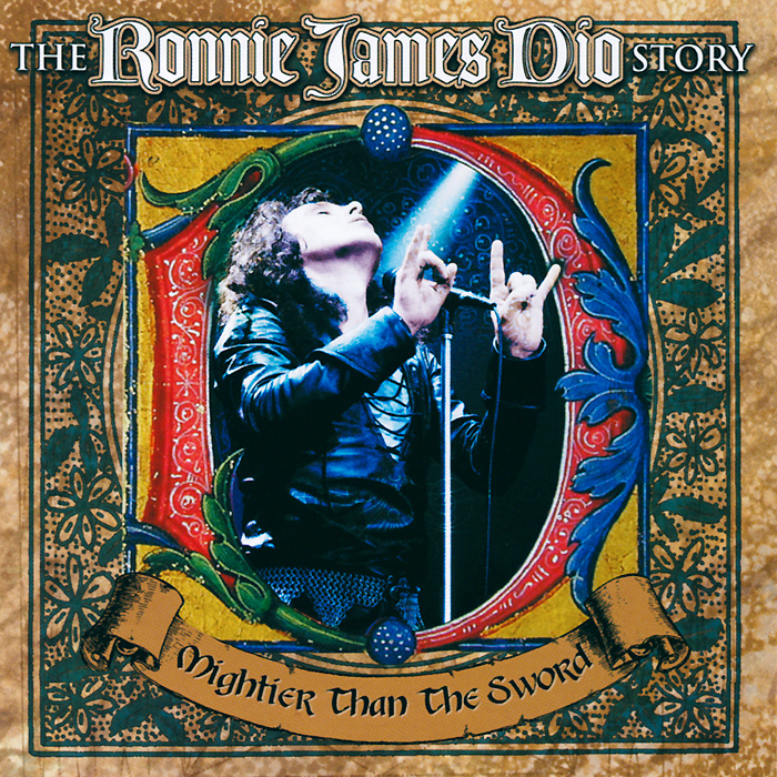 The Ronnie James Dio Story. Mightier Than The Sword (2 CD) виниловая пластинка kraftwerk 3 d the catalogue box set 180 gram