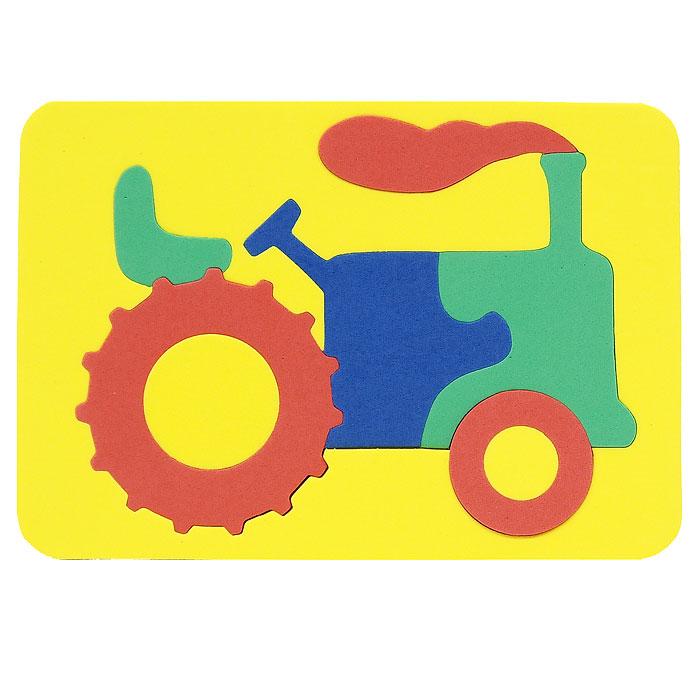 Бомик Пазл для малышей Трактор пазлы бомик мозаика трактор
