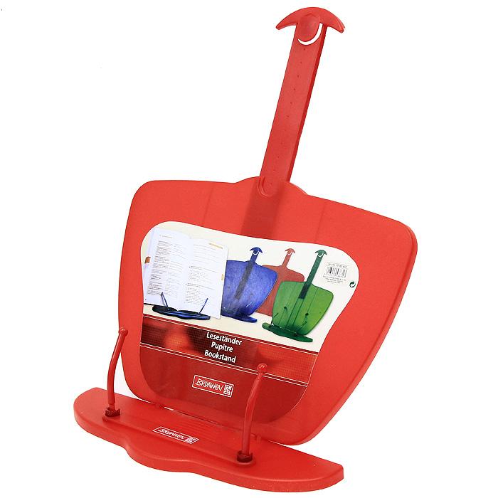 Brunnen Подставка для книг, цвет: красный