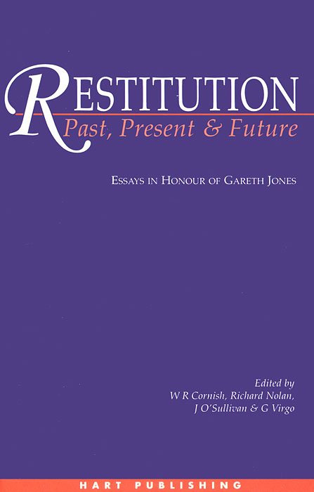 Restitution: Past, Present and Future the law of god an introduction to orthodox christianity на английском языке