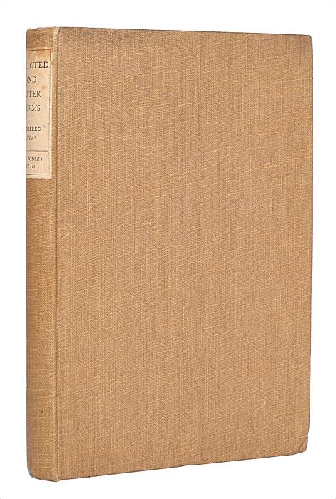 Уинифред Лукас. Избранные и поздние стихотворения2200PW-036Лондон, 1927 год. Издательство Jane Lane the Bodley Head Limited. Издательский переплет. Сохранность хорошая. В издании представлены избранные стихотворения английской поэтессы Уинифред Лукас.