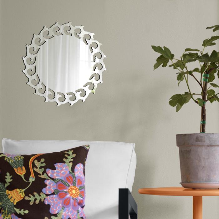 Декоративное зеркало Paristic Солнце №2, 29 x 29 смпро1057Декоративное зеркало Paristic Солнце №2 - это уникальная возможность придать интерьеру неповторимый индивидуальный облик. Зеркальное солнышко наполнит дом светом, теплом и радостью. Зеркало выполнено из гибкого органического стекла - более легкого и прочного материала по сравнению с обычным стеклом. Такое зеркало более устойчиво к повреждениям и обеспечивает максимальный визуальный эффект.Такой оригинальный элемент декора добавит в интерьер креативность и солнечное настроение и станет великолепным украшением, притягивающим заинтересованные взгляды окружающих.На оборотной стороне упаковки имеется подробная инструкция по наклеиванию (на русском языке). Характеристики: Материал:гибкое органическое зеркало. Размер зеркала (В x Ш): 29 см х 29 см. Размер упаковки: 47,5 см х 32 см. Производитель: Франция. Артикул: про1057.Paristic - это стикеры высокого качества. Художественно выполненные стикеры, создающие эффект обмана зрения, дают необычную возможность использовать в своем интерьере элементы городского пейзажа. Продукция представлена широким ассортиментом - в зависимости от формы выбранного рисунка и от Ваших предпочтений стикеры могут иметь разный размер и разный цвет (12 вариантов помимо классического черного и белого). В коллекции Paristic - авторские работы от урбанистических зарисовок и узнаваемых парижских мотивов до природных и графических объектов. Идеи французских дизайнеров украсят любой интерьер: Paristic -это простой и оригинальный способ создать уникальную атмосферу как в современной гостиной и детской комнате, так и в офисе.В настоящее время производство стикеров Paristic ведется в России при строгом соблюдении качества продукции и по оригинальному французскому дизайну.