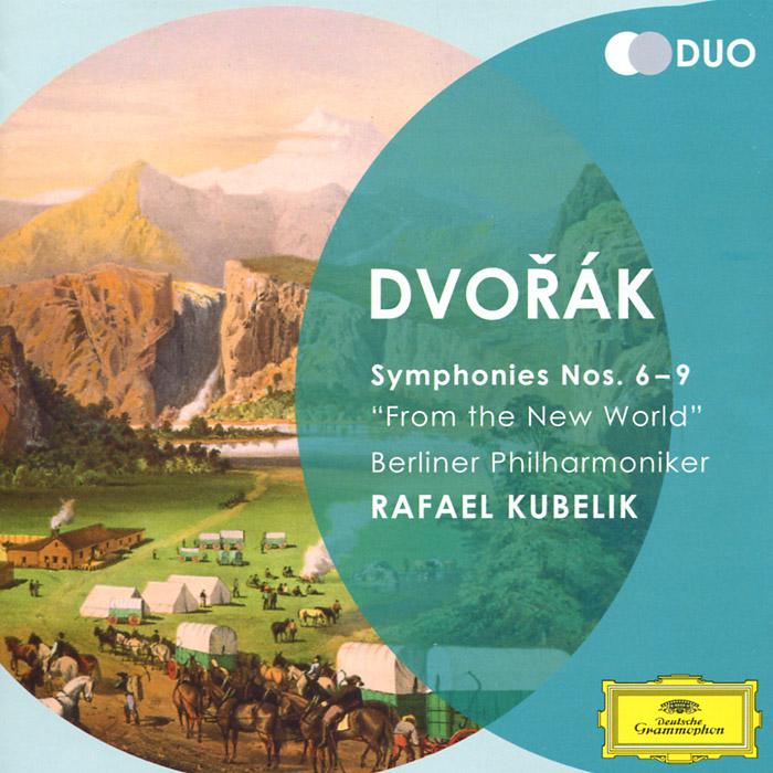 Rafael Kubelik. Dvorak. Symphonies Nos. 6-9 (2 CD)