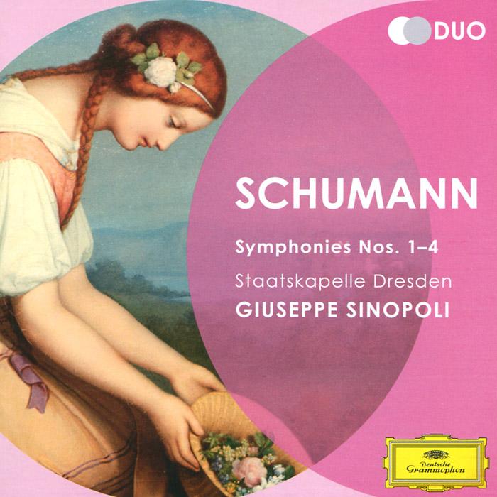Джузеппе Синополи,Staatskapelle Dresden Orchestra Giuseppe Sinopoli. Schumann. Symphonies Nos. 1-4 (2 CD)