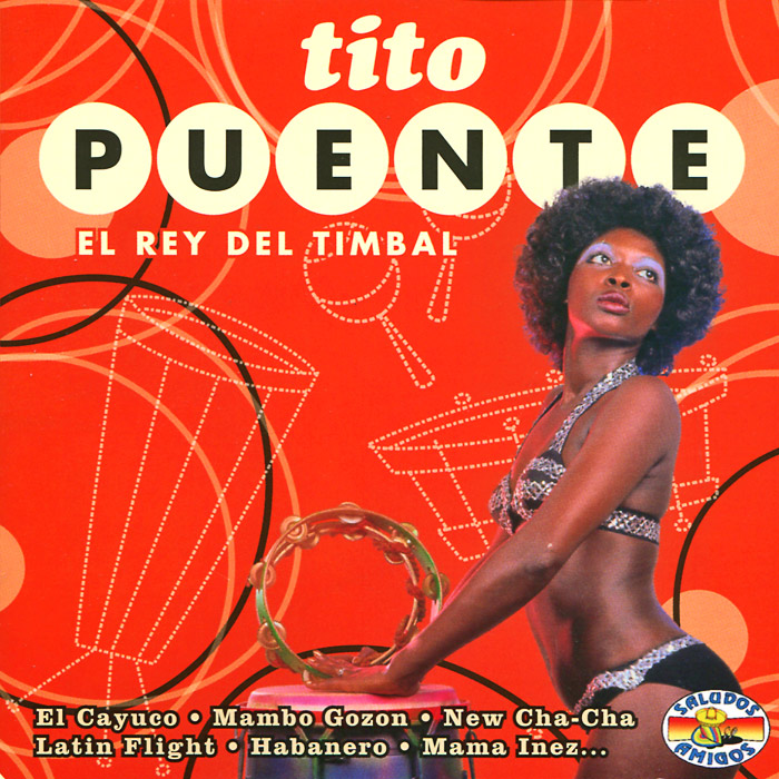 Тито Пуэнте Tito Puente. El Rey Del Timbal ultra loud bicycle air horn truck siren sound 120db