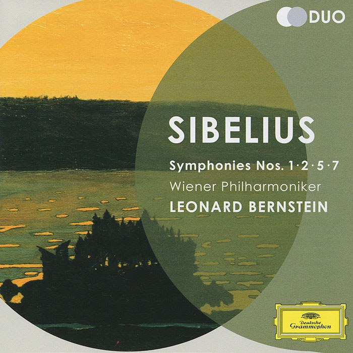Wiener Philharmoniker Leonard Bernstein. Sibelius. Symphonies Nos.1, 2, 5 & 7 (2 CD) mahler leonard bernstein symponies nos 9 & 10 das lied von der erde 2 dvd page 2
