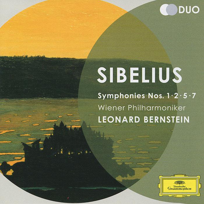 Wiener Philharmoniker Leonard Bernstein. Sibelius. Symphonies Nos.1, 2, 5 & 7 (2 CD) cd leonard bernstein wiener philharmoniker