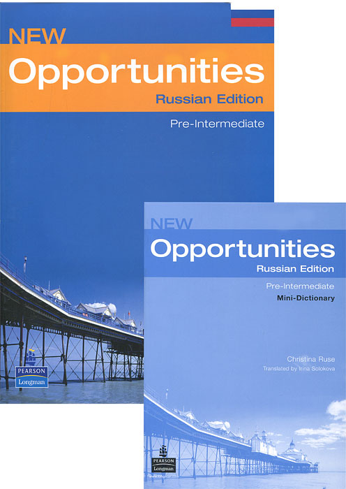 New Opportunities: Russian Edition: Pre-Intermediate: Student's Book: Mini-Dictionary (комплект из 2 книг)