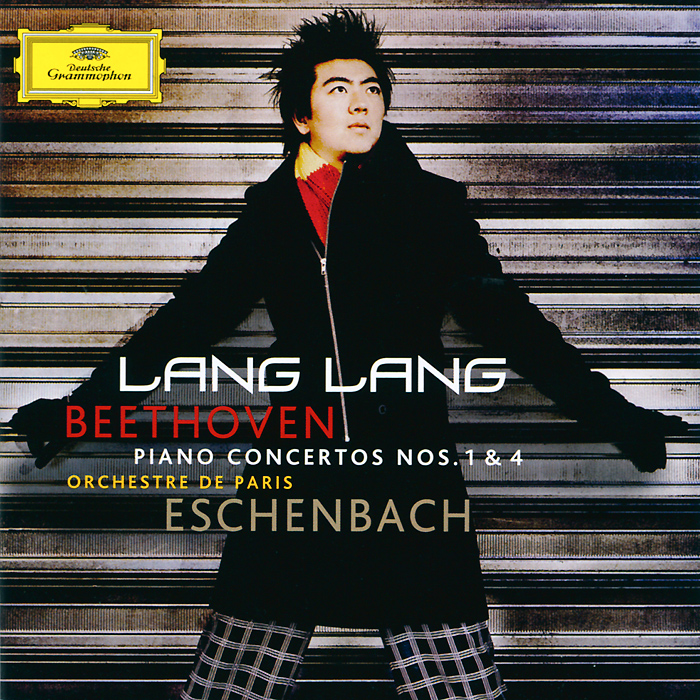 Ланг Ланг,Orchestre De Paris,Кристоф Эшенбах Lang Lang. Beethoven. Piano Concertos Nos. 1 & 4 (CD + DVD) ланг ланг lang lang live at carnegie hall 2 lp