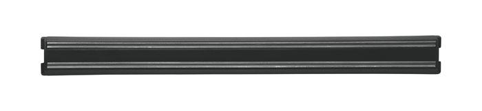 """Магнитный держатель для ножей """"Magnet"""" идеально впишется в интерьер современной кухни и позволит полнее использовать пространство, избегая размещения ножей на горизонтальной поверхности.  Держатель выполнен из пластика с магнитными вставками. В комплект входит крепеж. Современный стильный дизайн позволит держателю занять достойное место на Вашей кухне, добавив интерьеру оригинальности и изысканности. Характеристики: Длина держателя:  45 см. Материал:  пластик, магнит. Размер упаковки:  5 см х 52 см х 2 см. Изготовитель:  Великобритания. Производитель:  Германия. Артикул:  32621-450.     Немецкая компания """"Zwilling J. A. Henckels"""" была основана в 1731 году. При производстве своей продукции компания на протяжении многих лет использует инновационные технологии. В настоящее время компания """"Zwilling J. A. Henckels"""" является эталоном высокого немецкого качества, долговечности и практичности, чем заслужили признание во всем мире."""