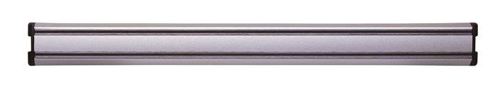 """Магнитный держатель для ножей """"Magnet"""" идеально впишется в интерьер современной кухни и позволит полнее использовать пространство, избегая размещения ножей на горизонтальной поверхности.  Держатель выполнен из алюминия с магнитными вставками. В комплект входит крепеж. Современный стильный дизайн позволит держателю занять достойное место на Вашей кухне, добавив интерьеру оригинальности и изысканности. Характеристики: Длина держателя:  45 см. Материал:  алюминий, магнит. Размер упаковки:  4,5 см х 51 см х 2 см. Производитель:  Германия. Артикул:  32622-450.     Немецкая компания """"Zwilling J. A. Henckels"""" была основана в 1731 году. При производстве своей продукции компания на протяжении многих лет использует инновационные технологии. В настоящее время компания """"Zwilling J. A. Henckels"""" является эталоном высокого немецкого качества, долговечности и практичности, чем заслужили признание во всем мире."""