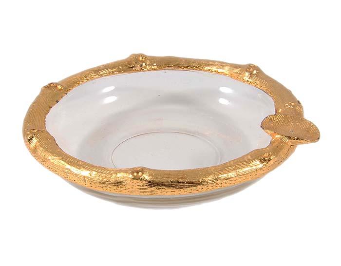 Пепельница. Металл, позолота, стекло. Конец XX века ольхов олег рыба морепродукты на вашем столе салаты закуски супы второе