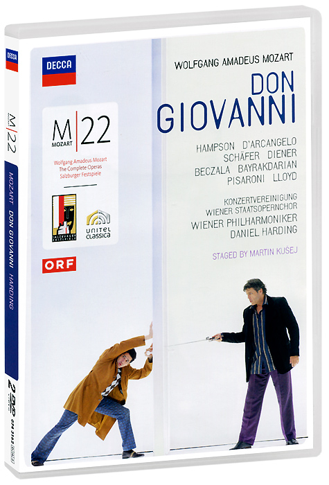 Mozart, Daniel Harding: Don Giovanni (2 DVD) amare matebu daniel kitaw and carlo rafele productivity improvement in ethiopian manufacturing firms