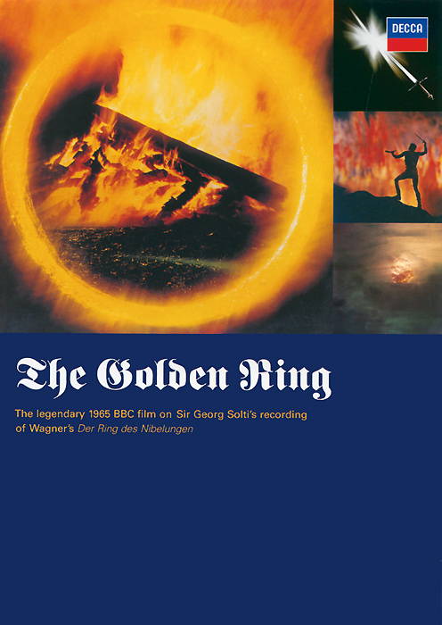 The legendary 1965 BBC film on the pioneering recording by Sir Georg Solti of Wagner's Der Ring des Nibelungen. Filmed during the recording of Gotterdammerung in the Sofiensale with the Vienna Philharmonic, it features performances by the great Wagner singers Birgit N isson, Wolfgang Windgassen. Gottlob Frick and Dietrich Fischer-Dieskau.