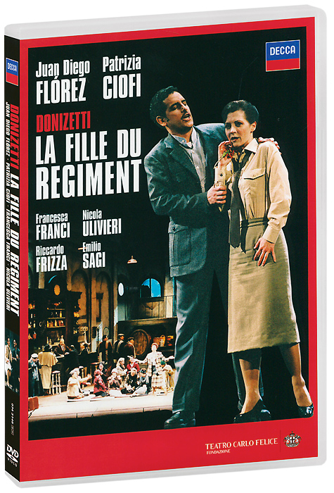 Donizetti, Juan Diego Florez, Patrizia Ciofi: La Fille Du Regiment (2 DVD) juan diego florez bogotá