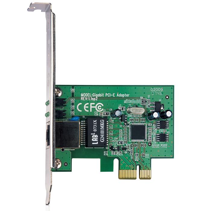 TP-Link TG-3468TG-3468Гигабитный сетевой адаптер TP-Link TG-3468 является интегрированным и наиболее выгодным по соотношению цена-качество Ethernet адаптером PCIe, полностью совместимым с устройствами на базе IEEE 802.3, IEEE 802.3u и IEEE 802.3ab.Сетевой гигабитный PCIe адаптер TG-3468 - это высокопродуктивное устройство, разработанное под высокоскоростную архитектуру шины PCI Express. Адаптер поддерживает функцию автоматического определения скорости передачи данных 10/100/1000 Мбит/с, функцию управления потоком flow control и технологию Wake-on-LAN. TG-3468 - это недорогое и эффективное решение для усовершенствования вашей сети.Автоматическое определение скорости и Auto MDI/MDIXПоддержка функции задержки передачи при переполнении буфера (Backpressure) для полудуплексного режимаПоддержка IEEE 802.1p Layer 2 Priority Encoding и IEEE802.1q VLAN тегированияПоддержка технологии экономии энергопотребления power down/link downСтандарты и протоколы: IEEE 802.3, 802.3u, 802.3ab, 802.3x, 802.1q, 802.1p, CSMA/CD, TCP/IPСветодиодные индикаторы: 1000 Мбит/с Наличие соединения/Активность, 100 Мбит/с Наличие соединения/Активность, 10 Наличие соединения/Активность, ДуплексКонтроль потока данных: управление потоком IEEE 802.3x (в полнодуплексном режиме)