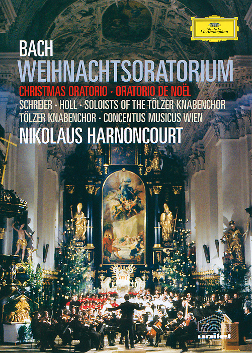 Bach, Nikolaus Harnoncourt: Weihnachtsoratorium николаус арнонкур nikolaus harnoncourt strauss ii waltzer polkas and marches