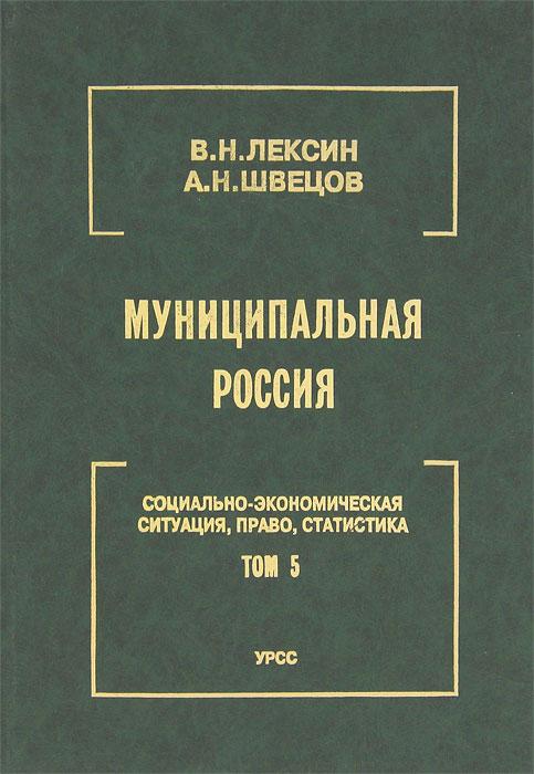 Муниципальная Россия. Социально-экономическая ситуация, право, статистика. Том 5