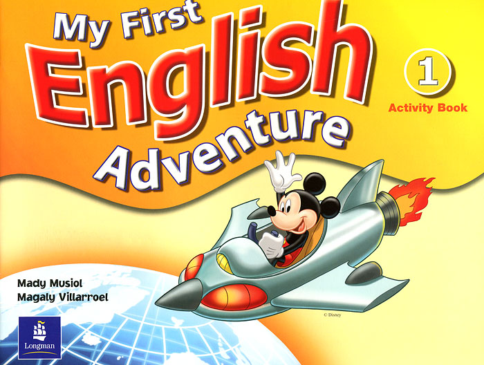 My First English Adventure: Activity Book 1