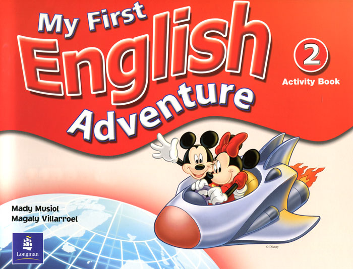 My First English Adventure: Activity Book 2 my first dinosaur sticker activity book