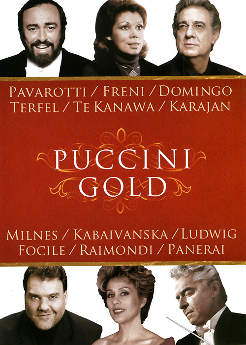 Puccini Gold puccini la boheme video cassette