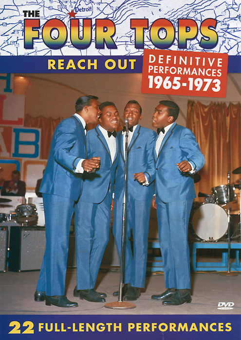 The Four Tops: Reach Out - Definitive Perfomances 1965-1973 powers the definitive hardcover collection vol 7
