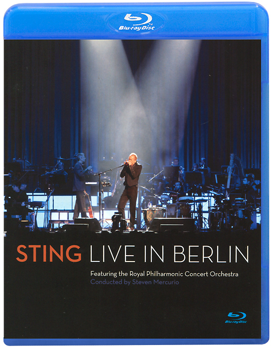 Sting: Live In Berlin (Blu-ray) sting sting the complete studio collection 16 lp