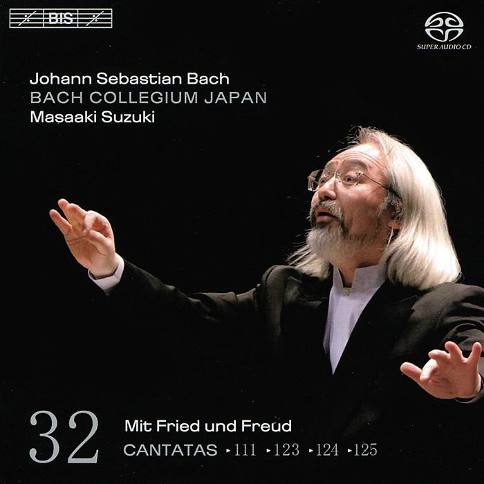 Масааки ,Bach Collegium Japan Chorus & Orchestra,Юкари Ноношита,Робин Блазе,Андреас Веллер Bach Collegium Japan, Masaaki Suzuki. Bach. Cantatas 32 (SACD)
