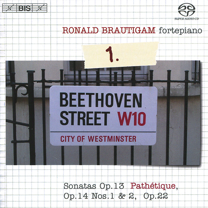 Ronald Brautigam. Beethoven. Complete Works For Solo Piano 1 (SACD)