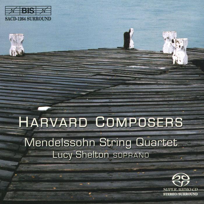 Люси Шелтон,Mendelssohn String Quartet Lucy Shelton, Mendelssohn String Quartet. Harvard Composers (SACD) emerson string quartet emerson string quartet haydn the seven last words