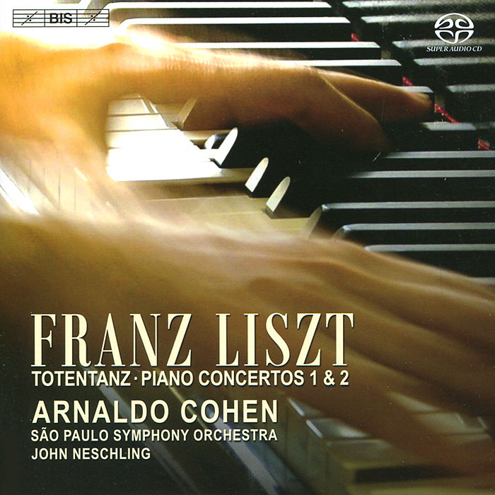 Арналдо Коэн,Сао Пауло,Джон Несчлинг Arnaldo Cohen. Liszt. Piano Concertos (SACD) хорхе болетт jorge bolet liszt piano music 9 cd