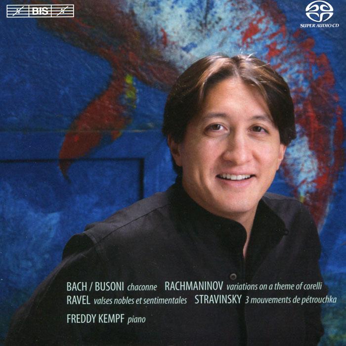 Фредди Кемпф Freddy Kempf. Rachmaninov / Bach / Busoni / Ravel / Stravinsky (SACD)