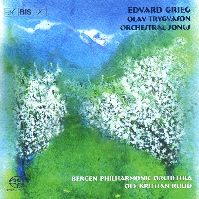 Bergen Philharmonic Orchestra. Ole Kristian Ruud. Grieg. Olav Trygvason. Songs (SACD)
