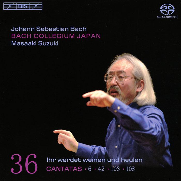 Bach Collegium Japan Chorus & Orchestra,Масааки Bach Collegium Japan. Masaaki Suzuki. Bach. Cantatas 36 (SACD)