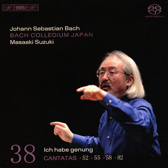 Bach Collegium Japan Chorus & Orchestra,Масааки Сузуки Bach Collegium Japan, Masaaki Suzuki. Bach. Cantatas 38 (SACD)